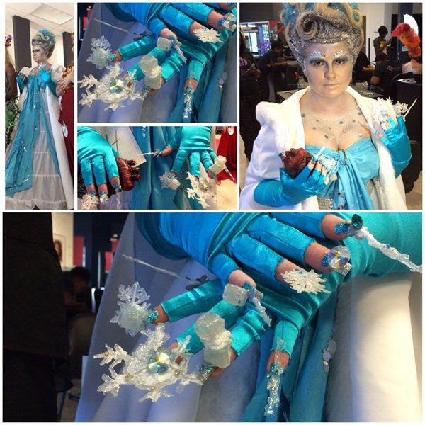 Our Ice Queen! Created in 6 hours.