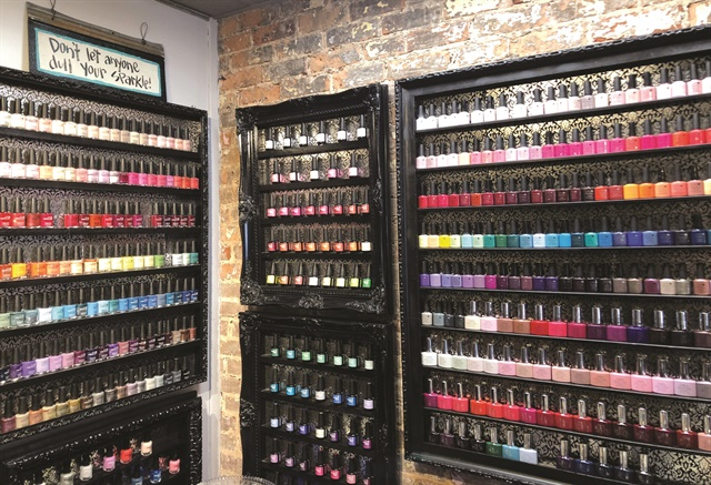 <p>The three nail techs at Nail Society Salon are obsessed with nail art, color, and glitter. CEO Kimberly Jones is also a CND educator, bringing their lines into the salon.</p>