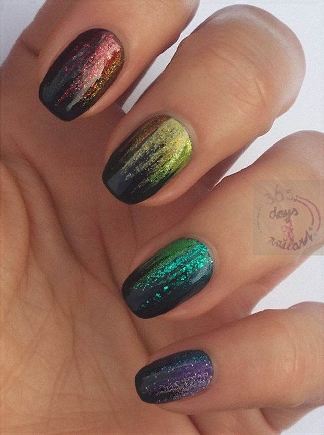25 Rainbow Nail Art Designs - - NAILS Magazine
