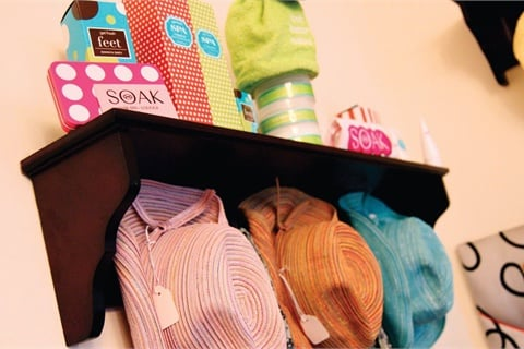 Merchandising in small spaces business nails magazine - Small retail space collection ...