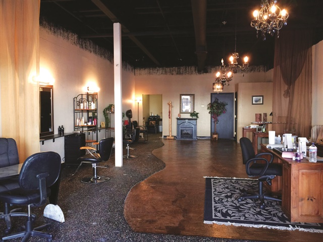 <p>New Nail Creations in Clovis, Calif. reveals Lisa Ann Bowles&rsquo; remarkable remodel for under $2,000. Bowles&rsquo; family helped her tear out interior walls, repaint, add more lighting, and create the stunning floor using torn paper bags.</p>
