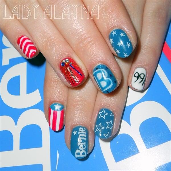 "Nails That Feel the ""Bern"" - - NAILS Magazine"