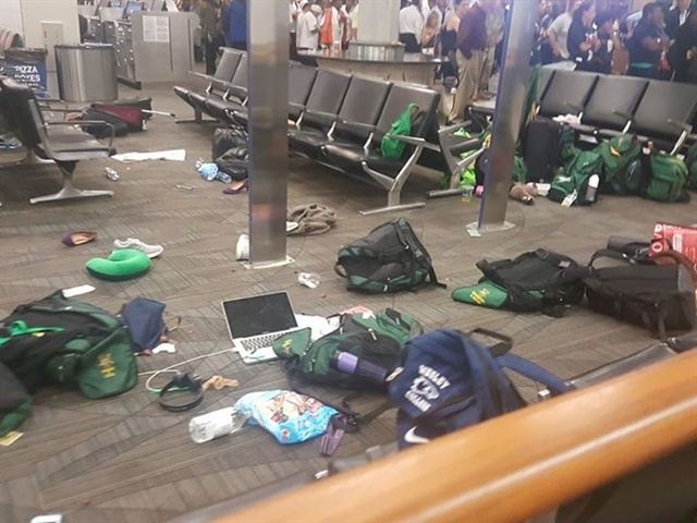 <p>The airport shooting created chaos and confusion while also reminding us to be thankful for the gift of being together.</p>