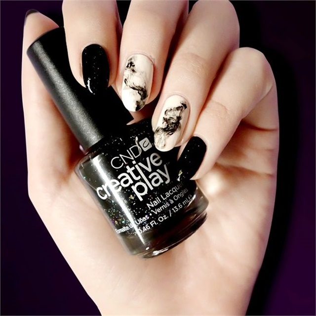 Click Here For Step By Instructions On How To Re Create This Witchy Mani Done Cnd Education Ambador Ashley Craig Using S Creative