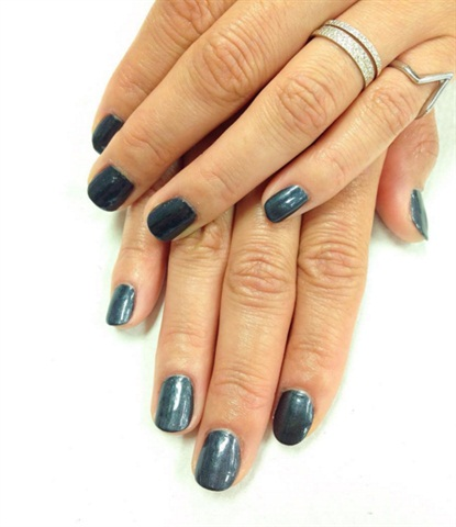 <p>Spa manicure and polish change for a classmate.</p>
