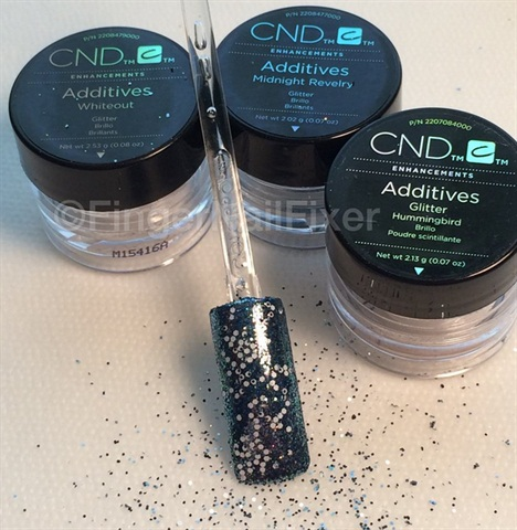 How To Sparkling Sky Nail Art With Cnd Additives Nails Magazine