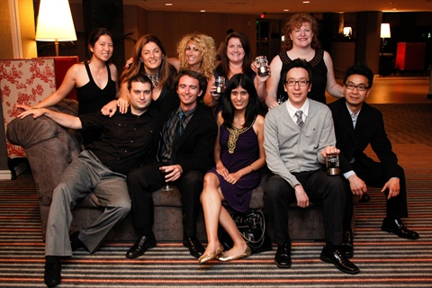 <p>Three more Maggie Awards were added to our shelves last weekend. The NAILS team is: (front row) Miljan Mihajlovic, Tim Crowley, Sree Roy, Min Kim, Sam Kim; (back row) Kim Pham, Michelle Mullen, Danielle Parisi, Hannah Lee, Cyndy Drummey.</p>