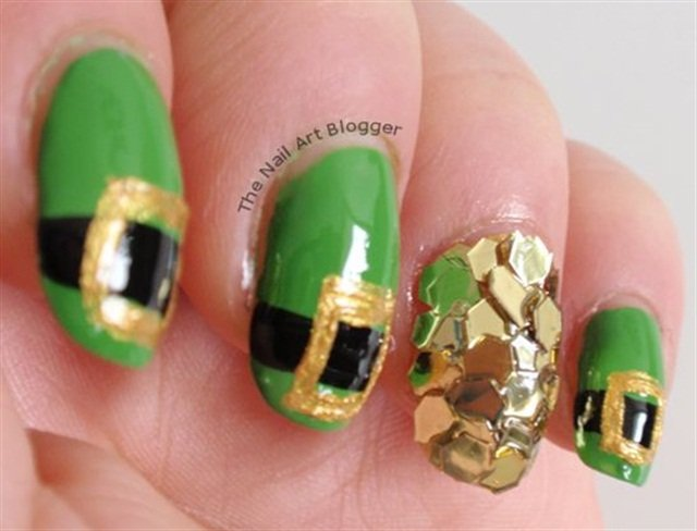 Clover All Over 13 St Patricks Day Nail Art Designs Nails