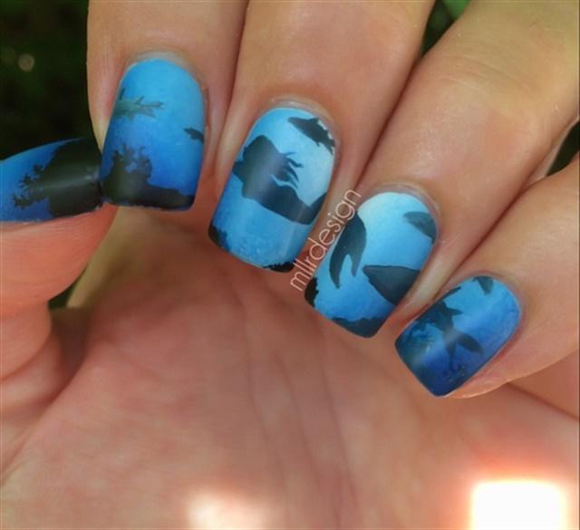 15 Awesomely Aquatic Nail Art Designs Nails Magazine