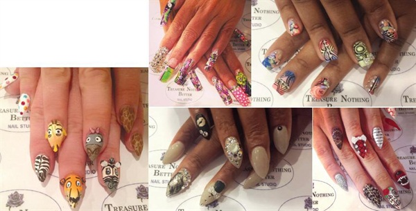 Nail art without limits business nails magazine our motto is nails with endless possibilities we do whatever we can to live up to that says tanaya middleton who owns treasure nothing better nail prinsesfo Images