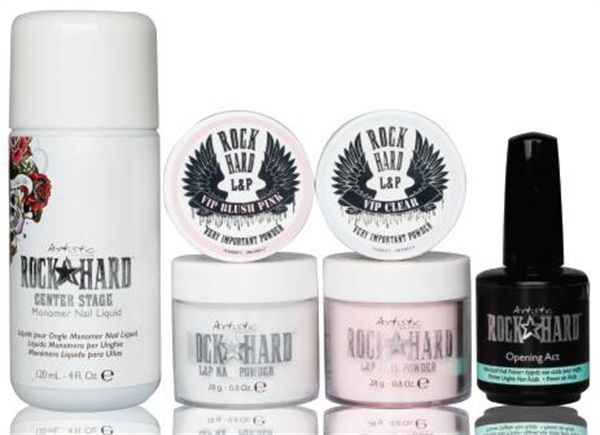 Using Revolutionary Nail Enhancement Technology Artistic S Rock Hard Liquid And Powder Collection Creates Nails That Are Strong Flexible Withstand