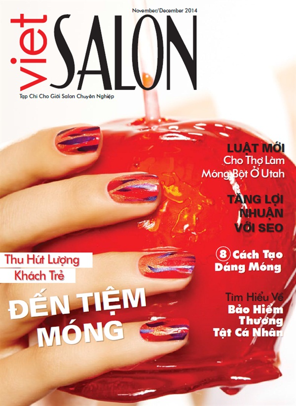Holly Empowers the November Cover of NAILS - - NAILS Magazine