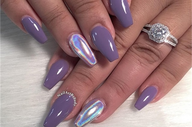 Ultra Violet Manis For Pantone S Color Of The Year Nails Magazine