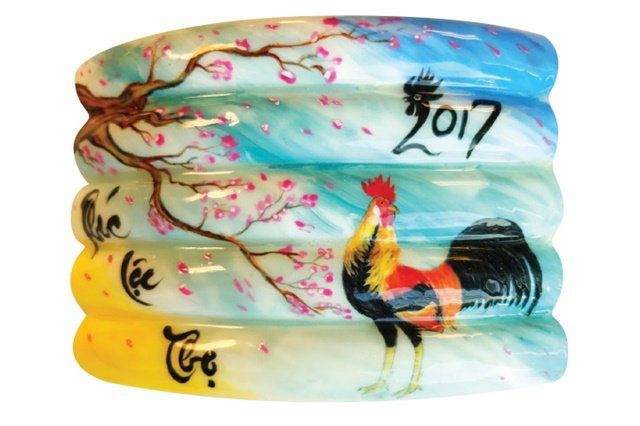 Vietsalon Year Of The Rooster Nail Art Competition Results Nails Magazine