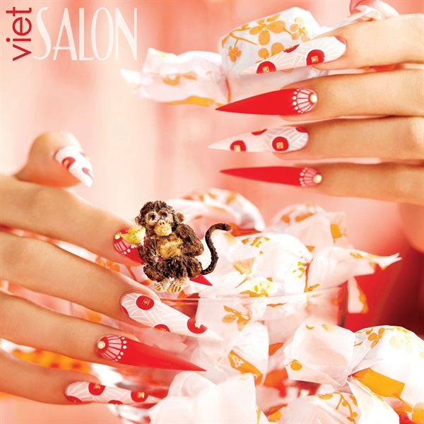 Nails by Tin Cao Bui (@nailsbytintin) for VietSALON Magazine