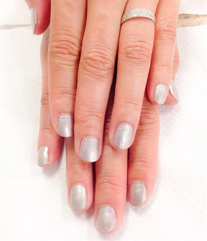 <p>Spa manicure and polish change for a classmate. </p>