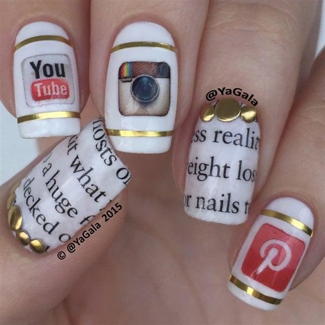 """<p>Nails by <a href=""""http://nailartgallery.nailsmag.com/yagala/photo/395544/social-media"""">Yagala</a></p>"""