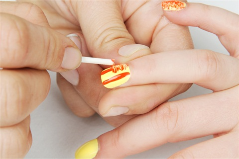 How To Use A Nail Art Striper Brush Best Nail Design 2018