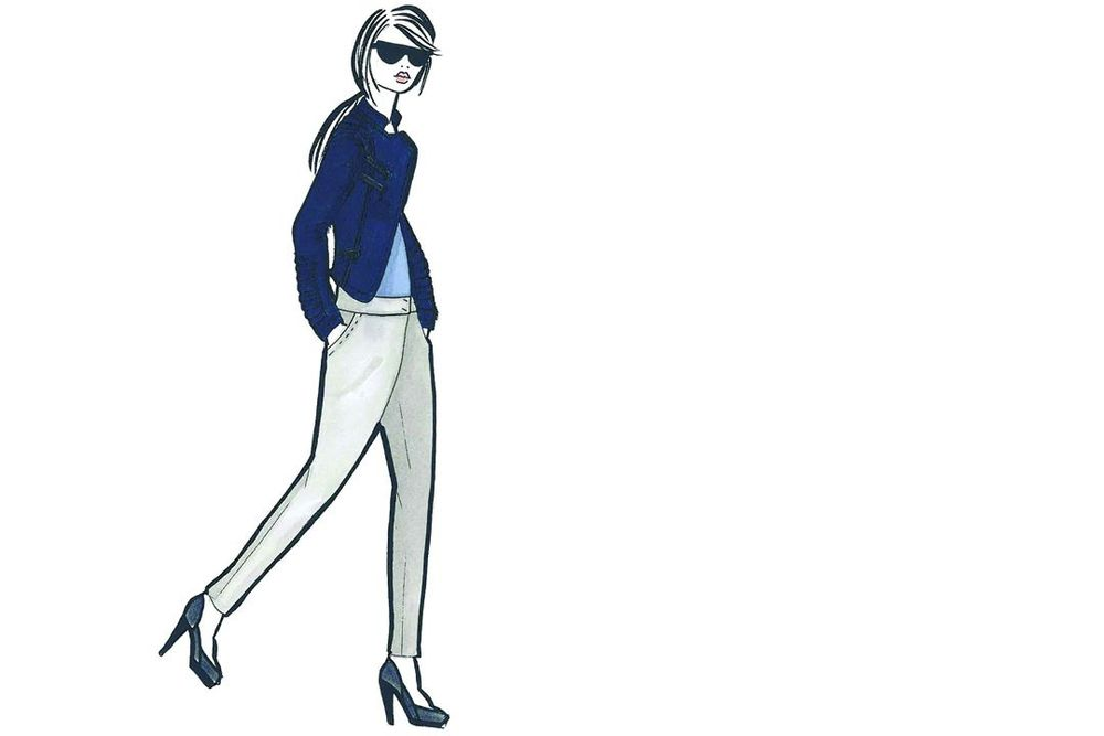 <p><strong>Sodalite Blue</strong>, a classic maritime hue, brings order and calmness to mind.</p> <p><em>Illustration by Mackage by Eran Elfassy and Elisa Dahan. Originally appeared in The Pantone Fashion Color Report Spring 2012.</em></p>