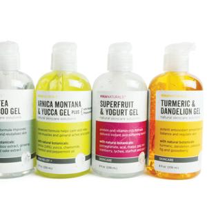 Botanical Skincare Gels