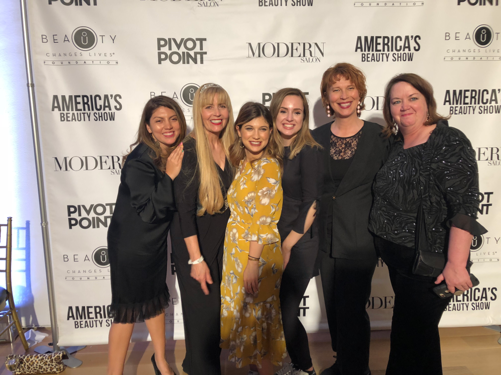 <p>The Beauty Changes Lives event brought together the NAILS and Modern Salon team.</p>