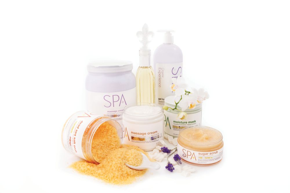 """<p>The six-step pedicure system by Bio Creative Labs uses scents like lavender and antioxidants to help soften skin and boost immunity. The system includes a Dead Sea salt soak, pure sugar scrub, moisture mask, organic massage oil, and massage cream. The finishing touch is BCL&rsquo;s gel lotion, which gives skin up to 24 hours of hydration.<br /><a href=""""http://www.biocreativelabs.com"""">www.biocreativelabs.com</a></p>"""