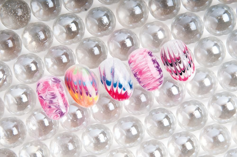 <p>Nails by Crystal Ngo, Lila Nail Spa, Garrett, Ind. (All nails created using gel-polish)</p>