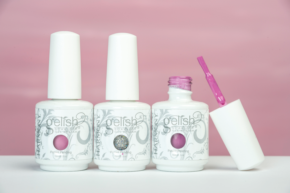 <p>Gelish is joining the fight against breast cancer with the release of the Breast Cancer Awareness 2014 Trio. The set is made up of the three top-sellers from the core collection featuring Water Field, a multi-&shy;dimensional glitter; Go Girl, a creamy bright pink; and It&rsquo;s a Lilly, a vibrant violet. Five percent of the proceeds will be donated to the Susan G. &shy;Komen Foundation.&nbsp;</p>