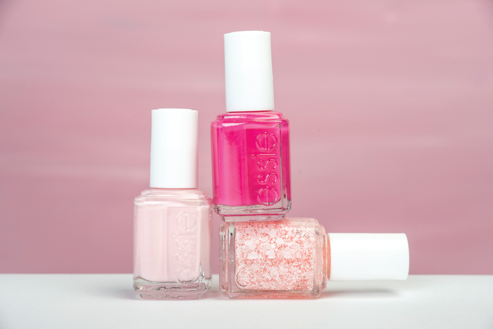 <p>Choose a cheerful new shade of pink to help remind you, and the world, breast cancer awareness starts with each of us. The Breast Cancer Awareness 2014 Collection by Essie will benefit cancer research at City of Hope. The set includes Pinking of You, an effervescent, one-of-a-kind pink top coat; I Pink I Can, a quintessential optimistic pink; and Pink &shy;Happy, a bright fuchsia berry.&nbsp;</p>