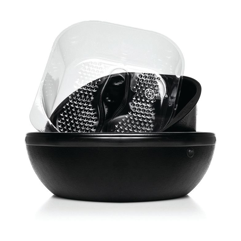 <p>Belava introduces the Trio Foot Spa to offer a mix of practicality and design. The stylish foot-soaking bowl has built-in heat and vibration, includes a removable pedicure tub for easy water fill, and has disposable liners for a safe and sanitary pedicure soak.<br />www.belava.com</p>