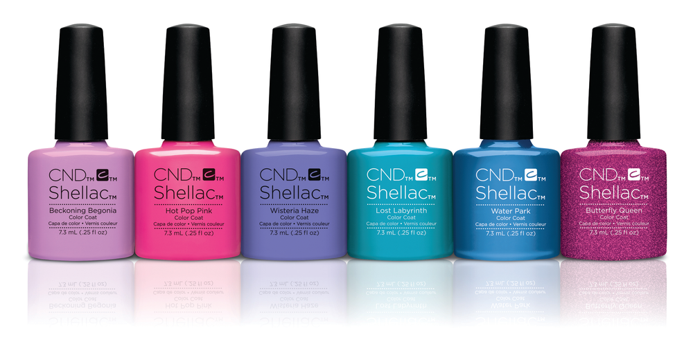 <p>CND&rsquo;s Garden Muse Collection embodies a bold, bright garden filled with memories future and past. This summer release features four new colors with Beckoning Begonia, Wisteria Haze, Lost Labyrinth, and Butterfly Queen.&nbsp;</p>