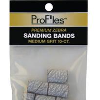 ProFiles Zebra Sanding Bands