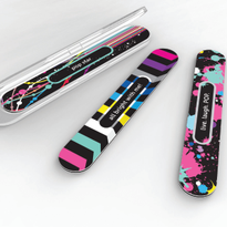 4-in-1 Catty Nail File & Case Color Pop Collection