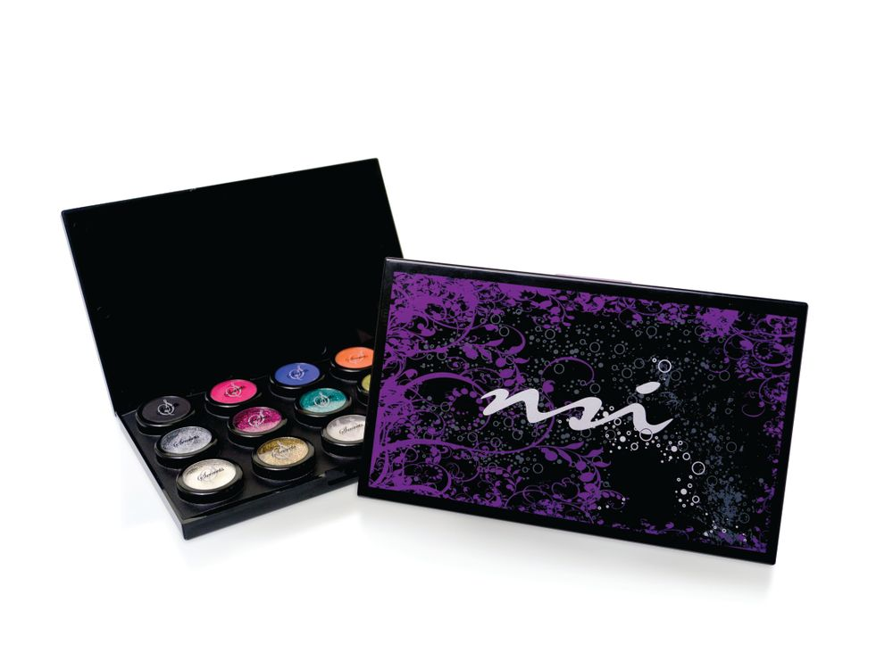 <p>NSI&rsquo;s Secrets Shades Collection are powders with fine polymers created for high pigmentation and rich color. Use this line of acrylic powders to help make nail art easy and to create a natural-looking and thin nail enhancement with exceptional adhesion and surpassed strength and flexibility. The collection includes 15 bold and bright colors that can be used to create 3-D designs.&nbsp;</p>