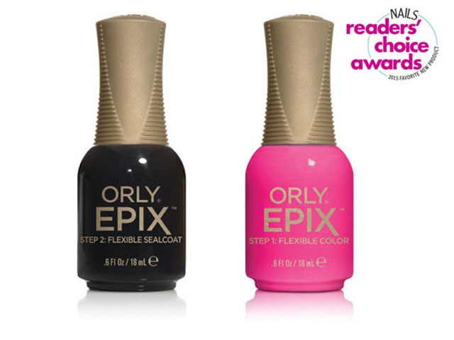 <p><strong>15. Orly</strong>: Epix Flexible Color System</p>