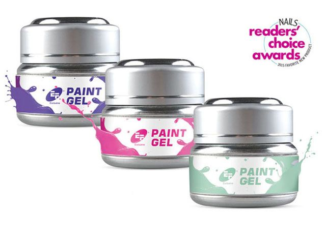 <p><strong>14. Euro Fashion</strong>: Paint Gel for Nail Art</p>