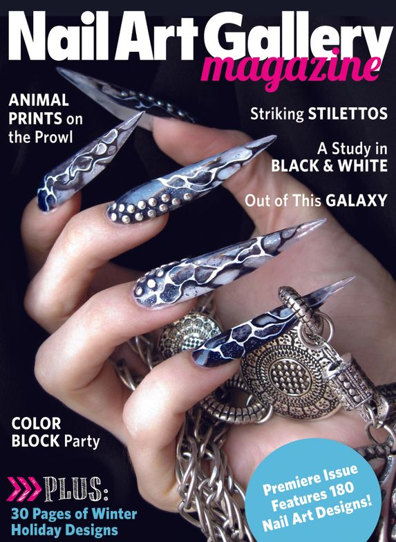 <p><strong>2012</strong>: NAILS launches Nail Art Gallery Magazine, the first tablet-only magazine for nail art enthusiasts.</p>