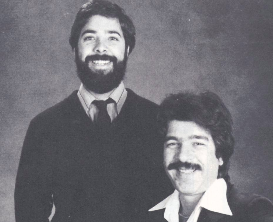 <p><strong>February 1983</strong>: NAILS Magazine is founded by Peter Grimes (left) and John Cipriano as a result of the burgeoning new market of nail salons popping up in Southern California.</p>