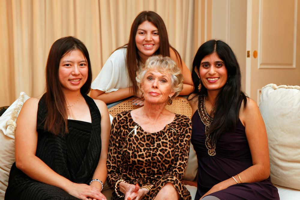 <p>VietSALON's Kim Pham, Salon Fanatic's Beth Livesay, and NAILS' Sree Roy conducted a group interview with actress Tippi Hedren who is credited for starting the Vietnamese nail industry.</p>
