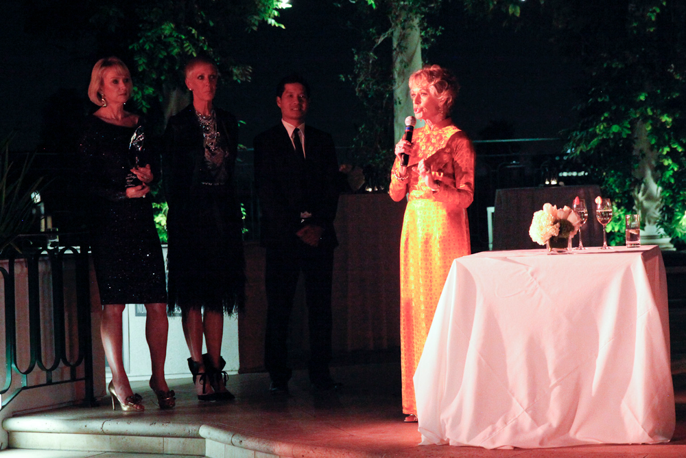 <p>Tippi Hedren, recipient of the Legacy of Style award, speaks highly of the Vietnamese women she helped into the nail industry.</p>