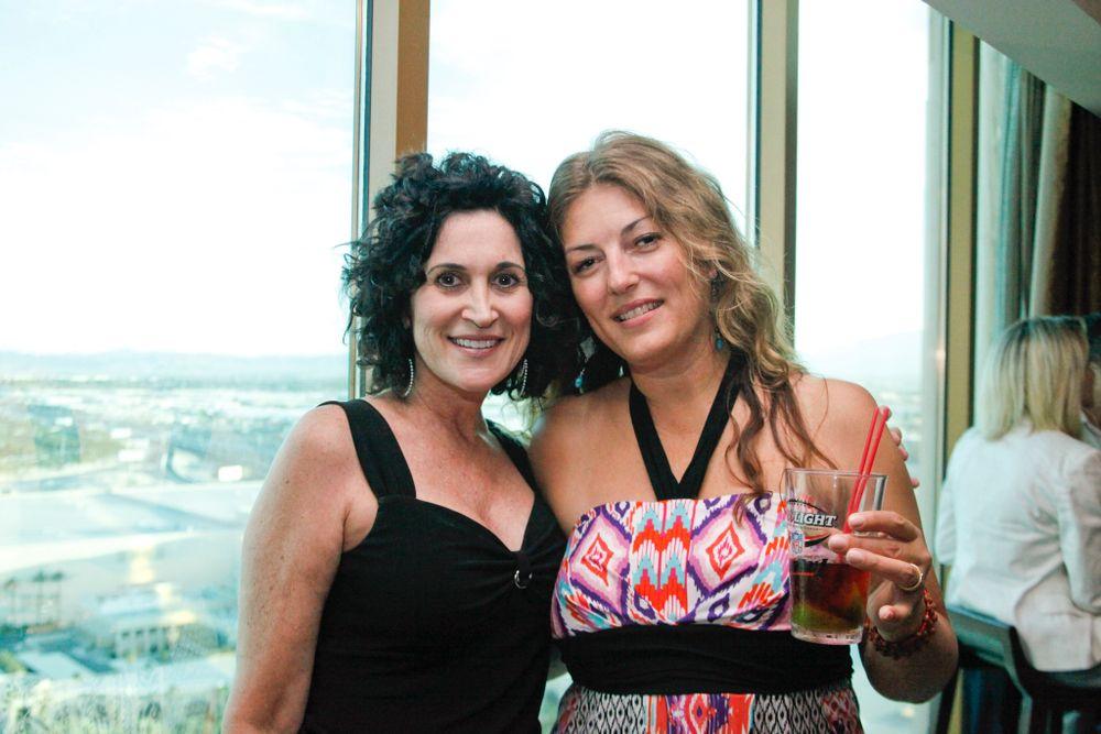 <p>Lisa Cocuzza with Michelle Mullen</p>
