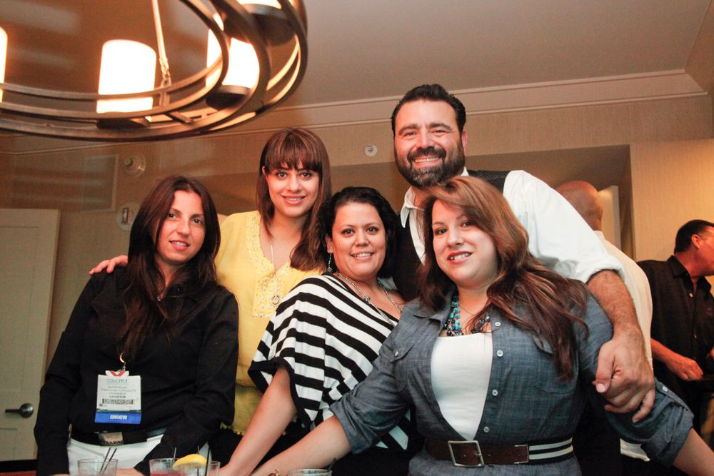 <p>Nubar&rsquo;s Aileen Atlas, Aimee Abrahamian, Gabby Sanchez, Lona Martinez, and Sevag Aivazian</p>