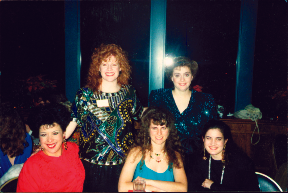 <p><strong>1990</strong>: NAILS is quoted in<em> The Wall Street Journal</em> for the first time. (pictured: NAILS editorial staff, 1991)</p>