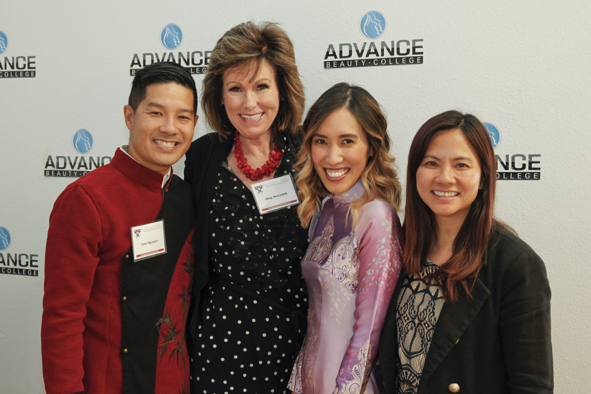 Photos from Advance Beauty College + Harvard Business School Meeting