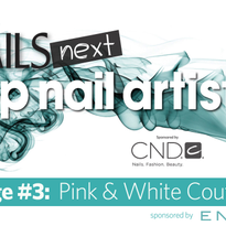 NAILS Next Top Nail Artist S.3: Challenge #3 (Pink & Whites)