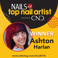 Ashton Harlan Wins Season 6 of NAILS Next Top Nail Artist