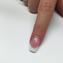 Reverse French Application with Gel