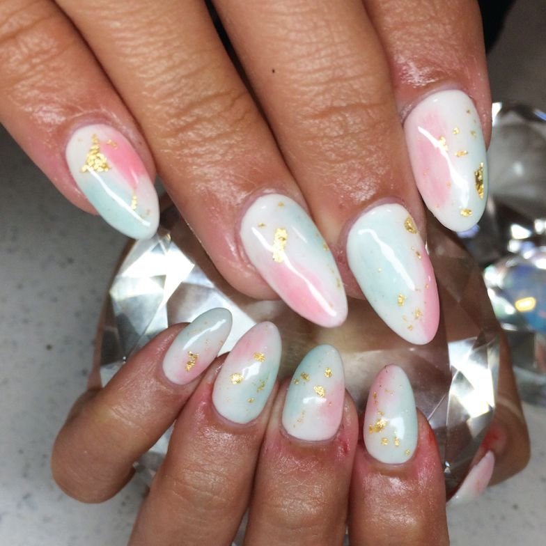 <p>Brittney Chin<br />Chino, Calif. <br /> nailgazms</p>