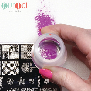 How to Use Purjoi Jumbo Clear Nail Art Stamper