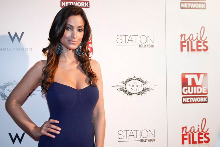 <p>Crystal Marie Denha, actress and TV host of AOL's Hollyscoop</p>